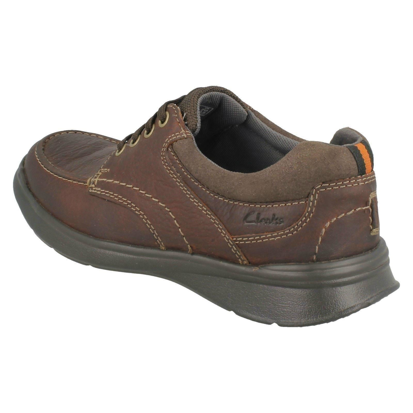 06869814e9d9 Mens Cotrell Edge Leather Lace up Shoes by Clarks Brown UK 7 for sale  online