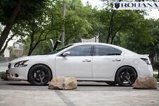20X9 +25 Rohana RC22 5x114 Black Wheel Fit Nissan Maxima 2010 5X4.5 Concave Rims