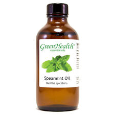 4 fl oz Spearmint Essential Oil (100% Pure & Natural) - GreenHealth