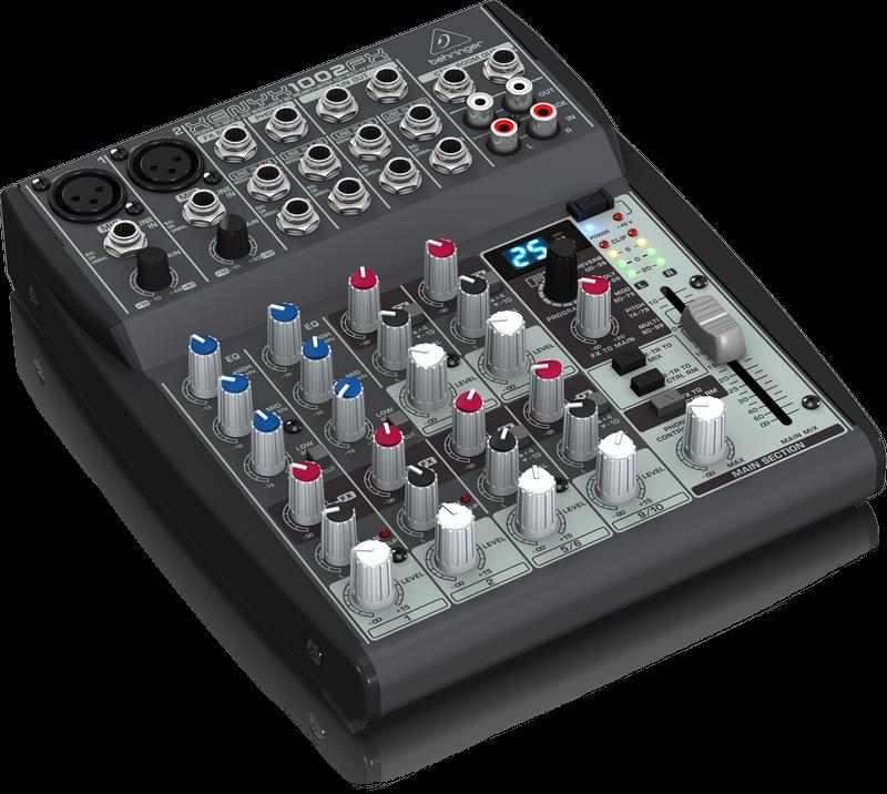 Behringer 1002FX Xenyx 10-Input 2-Bus Mixer