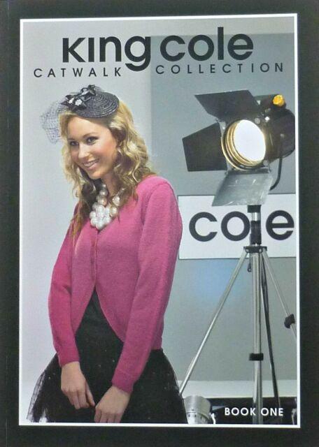 Womens KNITTING PATTERN BOOK Catwalk Book 1 King Cole PATTERN BOOK