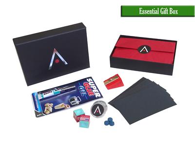 ACS Snooker//Pool Premium Cue Tip Accessory Kit Gift Box -- Elk Master Cue Tips