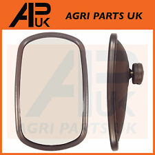 Universal Wing Mirror Head & Glass 10 x 6 Tractor Digger Lorry Truck Plant etc
