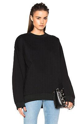 Acne Studios Sweatshirt Schwarz Xs Oversized