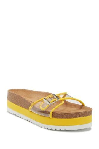 Jeffrey Campbell RAIVA ES Sandale Mule-jaune clair