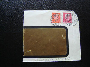 Germany-2-Stamps-Gummed-Tips-Perforated-On-Fragment-Z10-Germany