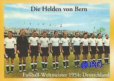 Fußball Weltmeisterschaft + Weltmeister Postkarten Serie + 1954 DEUTSCHLAND (2)