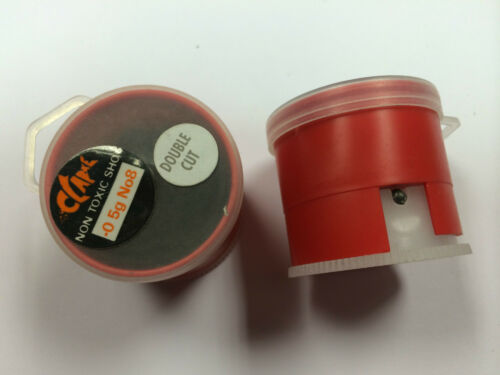 Clake un gros pot Soft Line Shot Facile Simple Distributeur Sze 8