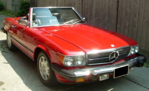 Mercedes 380SL Conv. Certified - Trades as listed considered