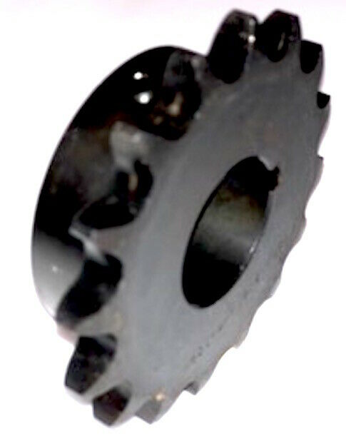 """1//2/"""" Pitch 1/"""" Finished Bore Double 15 Teeth D40BS15H X 1  TTN Sprocket"""