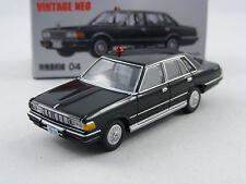 Nissan Cedric 280E in schwarz,Tomica Tomytec Lim.Vint.Neo Saizensen 04, 1/64