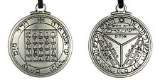 Pentacle of Saturn Talisman Key of Solomon Seal Pendant Kabbalah Wiccan Jewelry