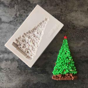 Xmas-Tree-Silicone-Fondant-Mould-Cake-Decor-Sugar-Chocolate-Baking-Mold-A