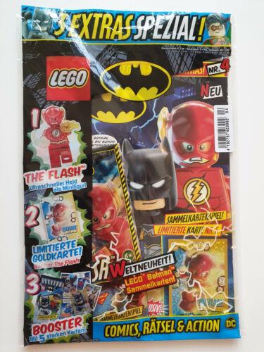 Lego®Batman  Magazin Nr.4   mit Figur the Flash OVP