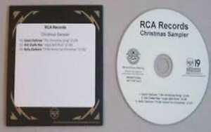 Kelly Clarkson - Wrapped In Red Christmas Sampler - 5 Song Promo CD | eBay