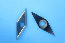 """Diamond Shape Carbide Cutter Insert 1.50 x .5""""  Detailer for Woodturning"""