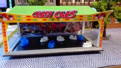"""Stanche /""""Crasy Cars/""""KITtraccia h0Guillaumebusiness di guidaLuna Park"""