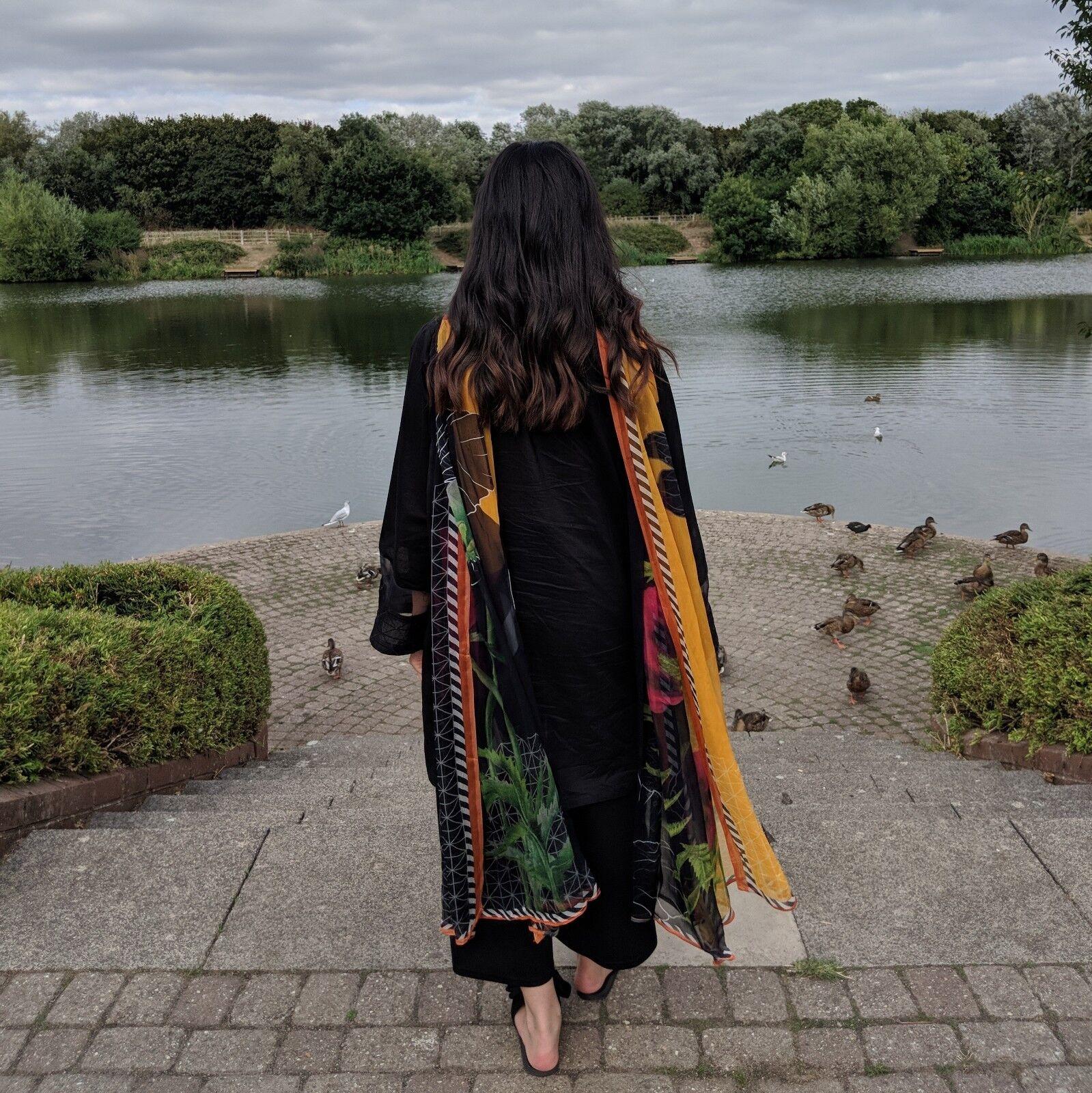 Pakistani Indian designer Beechtree Original 2 Piece Suit stitched embroidered