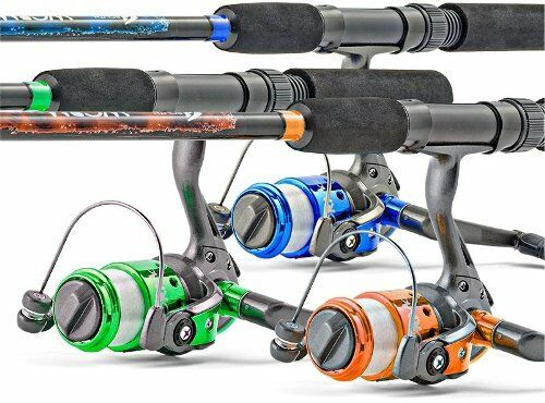 Spinning Fishing Rod and Reel Combo Fresh Water Stream Lake Trout Bass