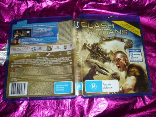 1 of 1 - CLASH OF THE TITANS : (2 DISC) (BLU-RAY DISC, M)