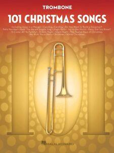 101 Chansons De Noël Pour Trombone Instrumental Folio Livre Neuf 000278643-afficher Le Titre D'origine Couleurs Harmonieuses