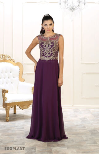 NEW SPECIAL OCCASION FORMAL EVENING PROM GOWN SLEEVELESS LONG CLASSY PARTY DRESS