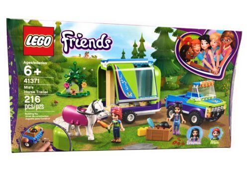 LEGO Friends Mia/'s Horse Trailer 41371 New.