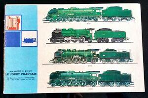 Brochure Jouef; trains Miniatures et accessoires sur 16 pages DmNp7U7h-08040305-602233354