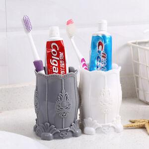 Makeup Brush Pencil Holder Pen Box Office Desk Organizer Stationery Cups Storage