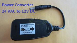 4Pcs-24-V-AC-to-12V-DC-Power-Reducer-Converter-Adapter