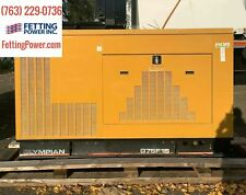 75kw Olympian Cat Stationary Natural Gas Generator G75f1s 480v Sn E7095a001
