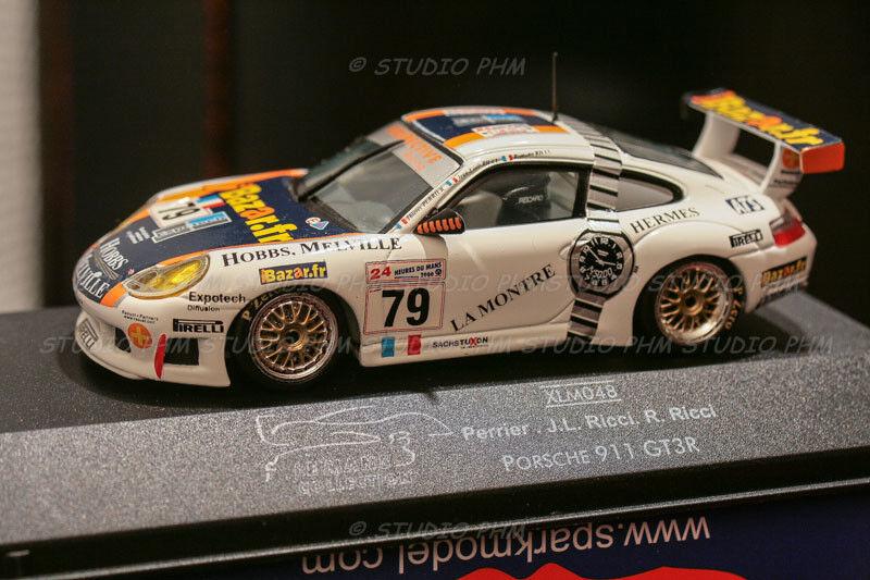 Porsche gt3r watch hermes 23 ° 24h mans 2000 1 43 phm exclusiv no spark