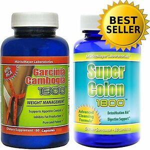 GARCINIA-CAMBOGIA-EXTRACT1000mg-COLON-CLEANSE-1800-DIET-PILLS-WEIGHT-LOSS