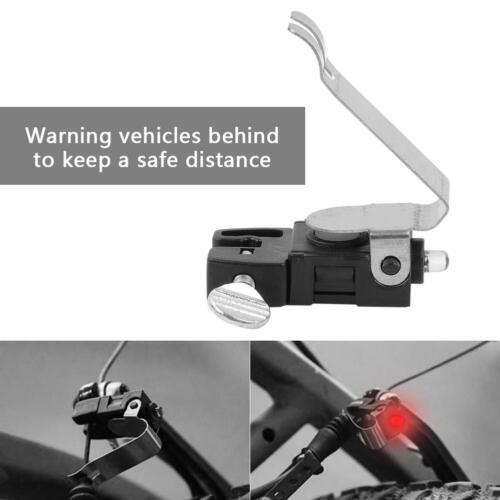 Durable Red LED Bicycle V Shape Brake light adjustable for Road Bikes mountainbik