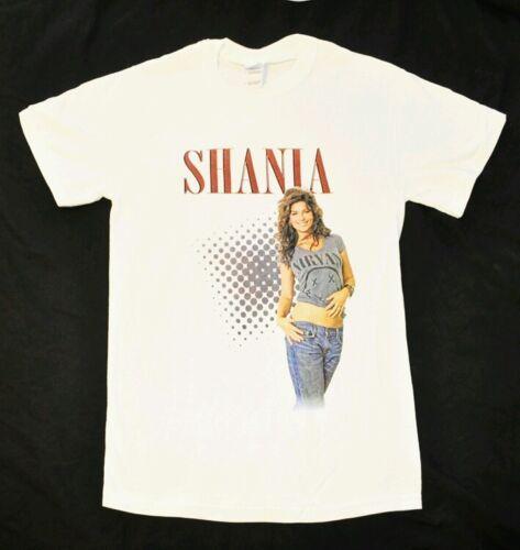 "Shania Twain White ""Nirvana Tee"" T-shirt Size Adult Large NEW +"