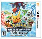 Pokemon Mystery Dungeon: Gates to Infinity (Nintendo 3DS, 2013)