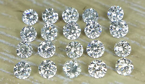 20pc-Natural-Loose-Brilliant-Cut-Diamond-Round-0-8-3-0mm-I1-Clarity-J-Color-Sett