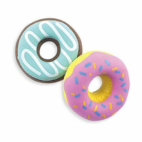 School Supplies for Kids Dainty Donuts Vanilla-Scented Erasers Set of 6 OOLY