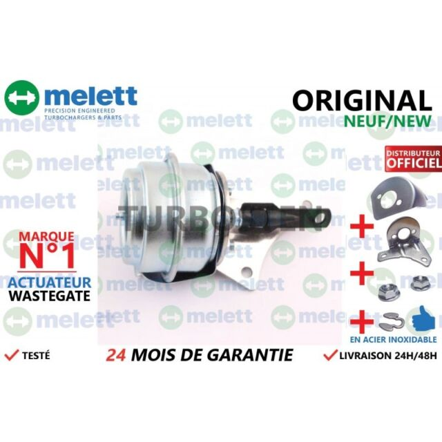 Actuator Wastegate Turbo RENAULT SCÉNIC III 1.9 dCi 131 755507 ORIGINAL Melett