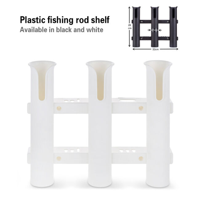 Plastic Fishing Rod Rack Boat Kayak Rod Holder Fishing Pole Rest Support Stand