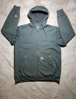 Carhartt Mens Rain Defender Rockland Sherpa Lined Hooded Sweatshirt Hooded Sweatshirt