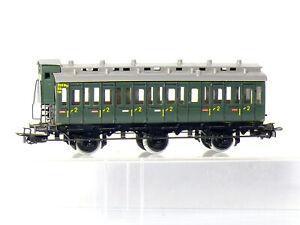 Marklin-4005-h0-3-achsiger-Compartiment-Voiture-2-kl-La-Db-Avec-Guerite-vert-neuf-dans-sa-boite