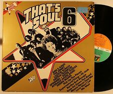 Various Artists That's Soul 6 GER LP 1975