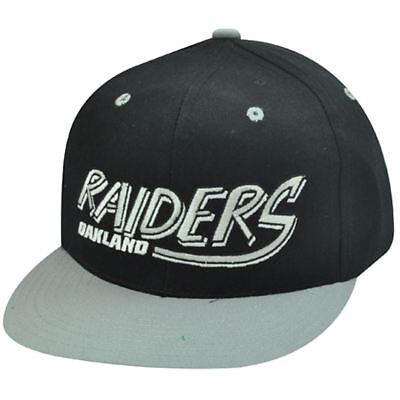 Weitere Ballsportarten Diskret Nfl Oakland Raiders Schwarz Old School Baseball Kappe Hut