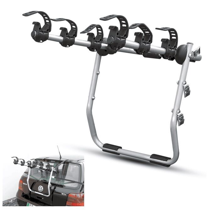 Portabici Posteriore Auto Mod.MISTRAL ALLUMINIO 3BICI UNIVERSALE BICYCLE CARRIER