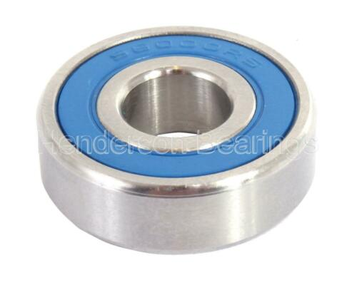 S696-2RS DDR1560-2RS Stainless Steel Ball Bearing 6x15x5mm