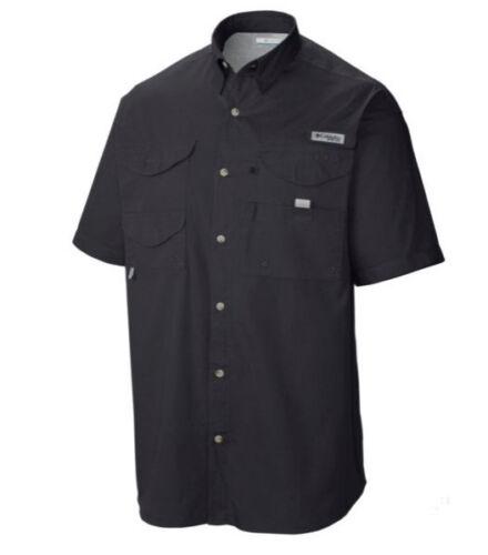 New Men/'s Columbia PFG Bonehead Vented Fishing Shirt Short Sleeve