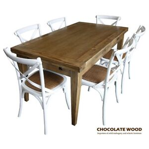 Image Is Loading IOWA SOLID OAK Extension DINING Table 6 White
