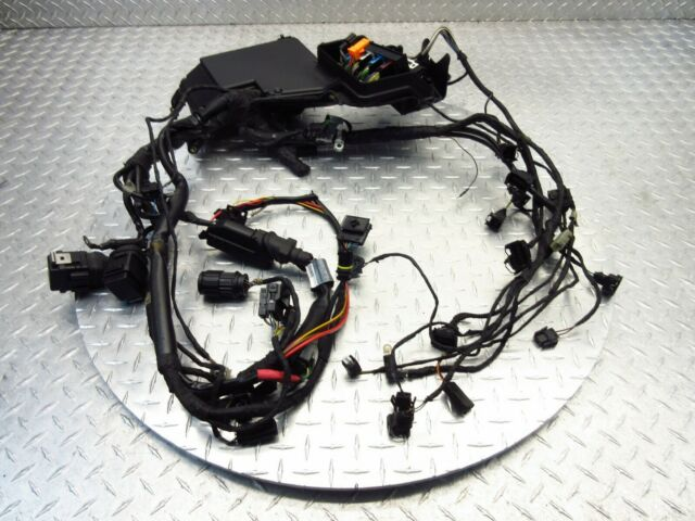 1998 98-03 bmw k1200rs k1200 rs main wire harness wiring loom fuse box oem