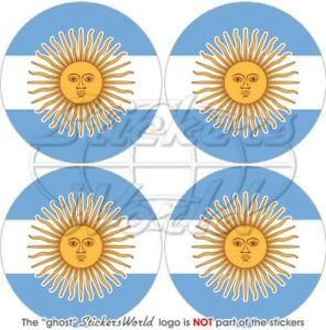 Argentine Argentin, 50mm Vinyle Autocollants, X4 Txsmjwdc-07223238-469827792